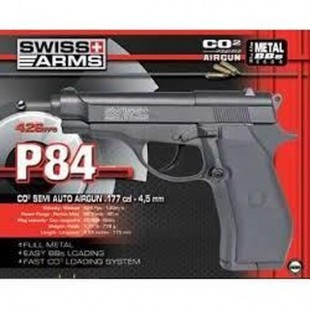 P84 4.5 mm Co2 Swiss Arms