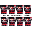 Pack de 8 sachets de billes 0.25G King Arms